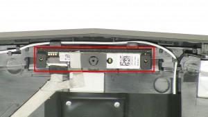 Remove the LCD Web Camera.