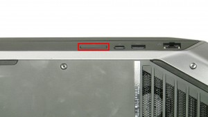 Press in the SD Card & remove it from the laptop.