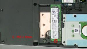 Remove the M.2 SSD.