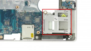 Remove the ExpressCard Cage.
