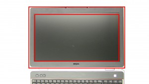 Unsnap & remove the LCD Bezel around the edge of the screen.