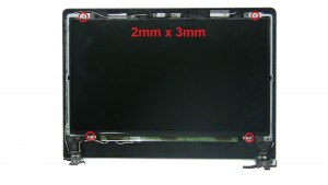 Unscrew and turn over LCD Screen (4 x