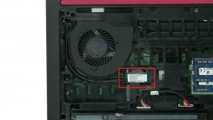 Disconnect and loosen LCD Cable.