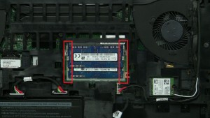Separate clips and remove Memory.