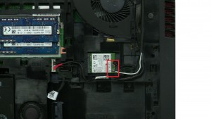 Disconnect and loosen antenna cables.