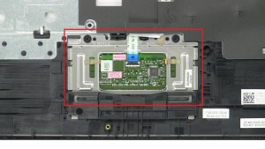 Disconnect touchpad cable.