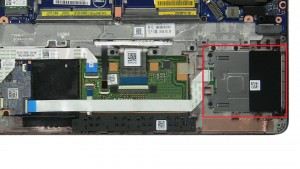 Unscrew and remove Smart Card Module (2 x