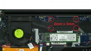 Unscrew and remove Heatsink (4 x