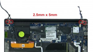 Unscrew and remove LCD Display Assembly (4 x