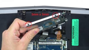 Remove hard drive connector.