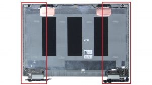 Unscrew and remove Hinge Rails (6 x