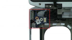 Unscrew and remove Audio / Video Circuit Board (1 x