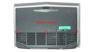 Alienware 18 R1 18.4 LCD Front Trim Cover Bezel Plastic for FLATFHD Screen Refurbished DWVPH DWVPH