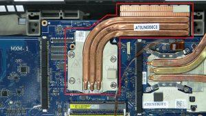 Unscrew and remove CPU Heatsink (4 X Captive screws).