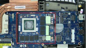 Unscrew and remove Secondary GPU (2 x