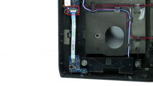 Disconnect sensor board.