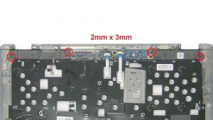 Unscrew and remove Speakers (4 x