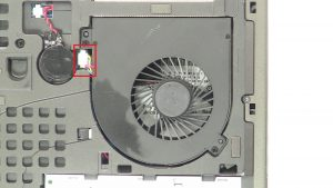 Unscrew and disconnect CPU Cooling Fan (2 x