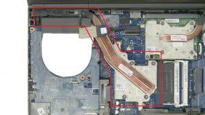 Unscrew and remove CPU Heatsink.