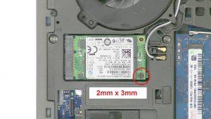 Dell Precision M4700 (P21F001) MSATA SSD Removal & Installation