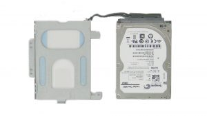 Remove hard drive adapter.