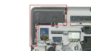 Unscrew and remove Right Corner Cover (3 x