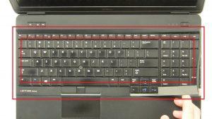Dell Latitude E6540 (P29F001) Keyboard Bezel How-To Video Tutorials