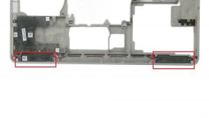 Unscrew and remove Speakers (2.5mm X 7mm X 3mm thread).