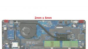 Unscrew and remove Display Assembly (6 x