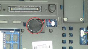 Disconnect and remove CMOS Battery.