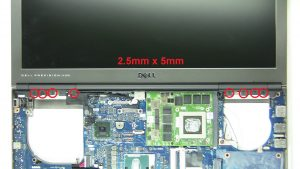 Unscrew and remove Display Assembly (12 x