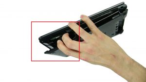 Use fingers to separate and remove Base Cover.