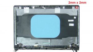 Unscrew and remove Right Display Hinge (4 x