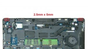 Unscrew and remove Display Assembly (4 x