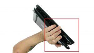 Unscrew Bottom Base (10 x M2.5 x 7mm) (2 X Captive screws).