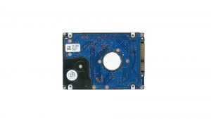 Unscrew and slide out Hard Drive (4 x