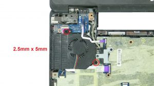 Unscrew and disconnect Cooling Fan (2 x
