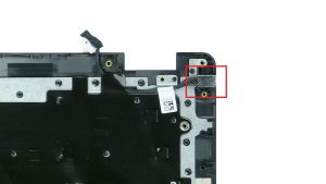 Unscrew and remove DC Jack (1 x M2 x 3mm).