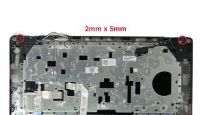 Unscrew and remove Display Assembly (4 x M2 x 5mm).