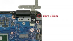 Unscrew and disconnect DC Jack.