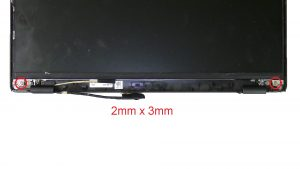 Unscrew and turn over LCD Panel (2 x