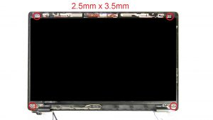 Unscrew and turn over LCD Panel (4 X 2.5mm x 3.5mm).