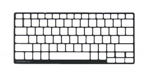 Use plastic scribe to separate and remove Keyboard Bezel.