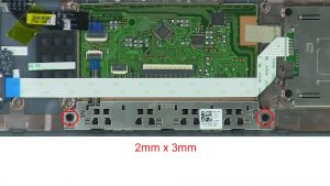 Unscrew and disconnect Mouse Buttons (2 x