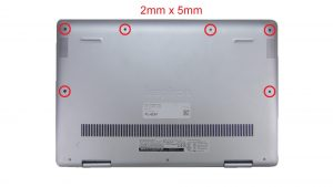 Unscrew then use fingers to separate and remove Bottom Base (3 x captive screws) (6 x