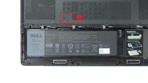 Slide release latch to unlock Battery.
