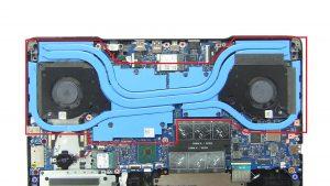 Unscrew and remove Heatsink (7 x captive screws).