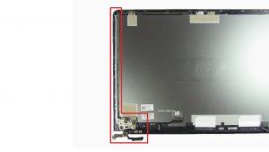 Unscrew and remove Display Hinge (4 x