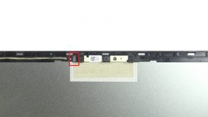 Disconnect and remove display cable.