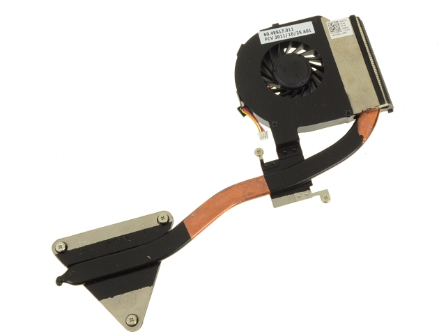 New fan for DELL VOSTRO 3400 3500 V3400 Cooling heatsink with fan 0160M8 160M8